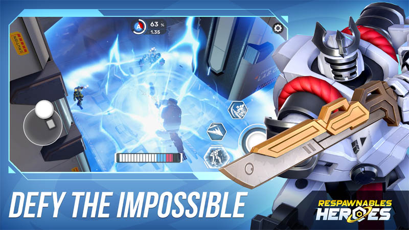 Respawnables Heroes - Defy The Impossible