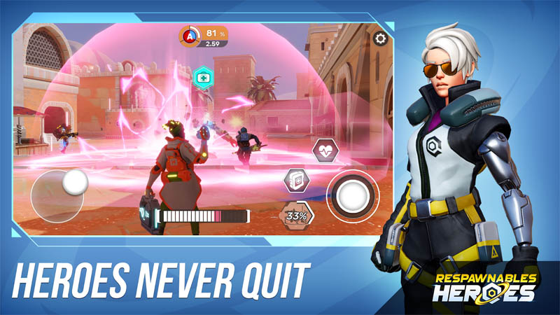 Respawnables Heroes - Heroes Never Quit