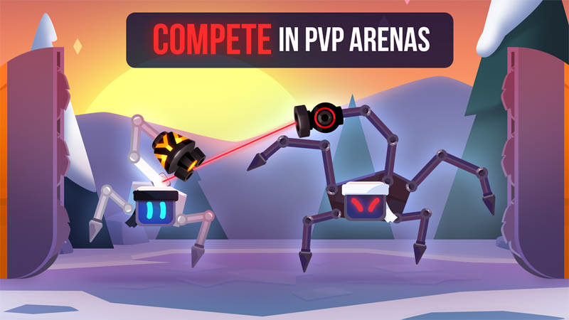 Robotics - Compete in PVP Arena