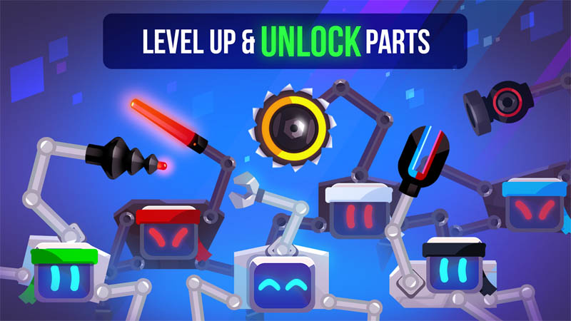 Robotics - Level Up and Unlock Parts