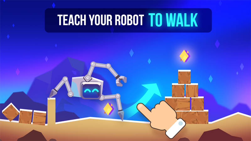 Robotics - Teach Your Robot To Walk