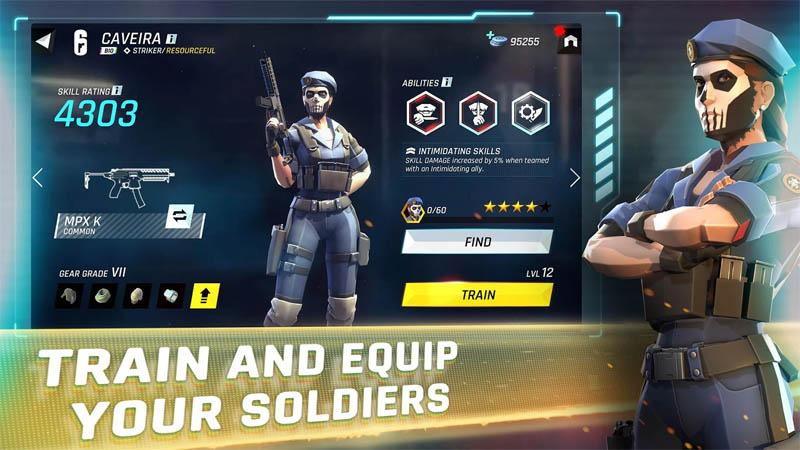 Tom Clancy s Elite Squad - Train and Equip Your Soldiers