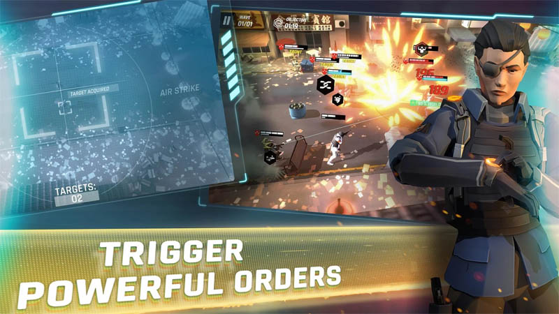 Tom Clancy s Elite Squad - Trigger Powerful Orders