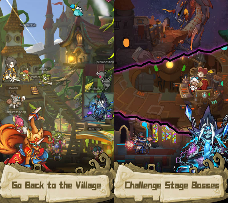 iMonster Classic - Return to the Village Challenge Stage Boss