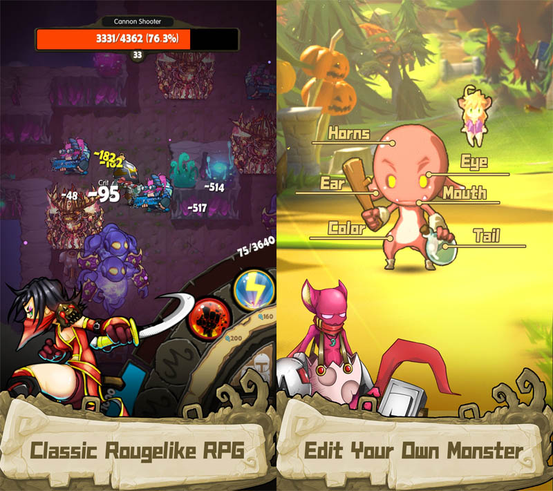 iMonster Classic - Roguelike RPG Klasik Edit Monstermu Sendiri