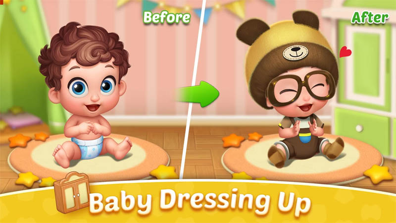 Baby Manor - Baby Dressing Up