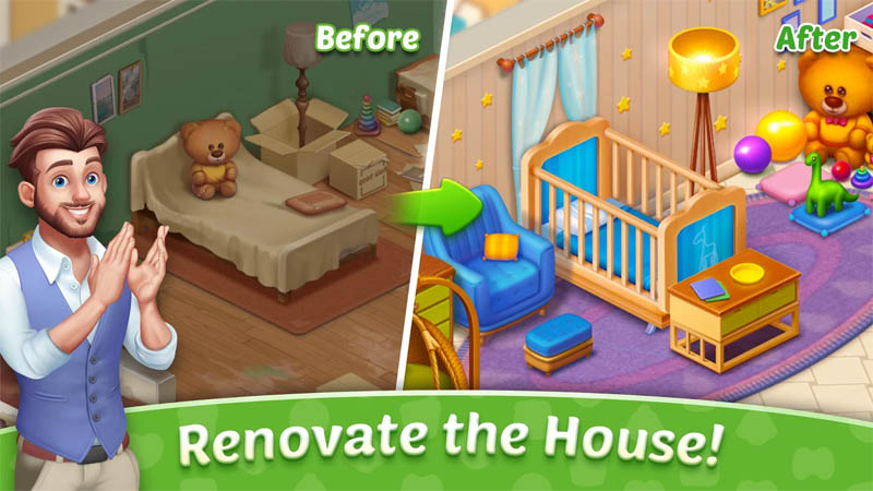 Baby Manor - Renovate the House