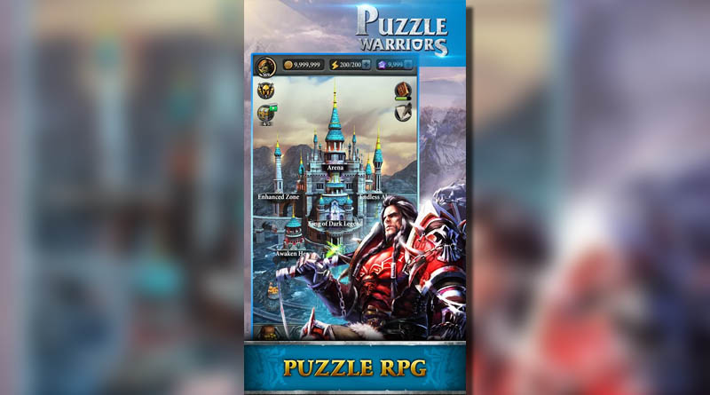 Puzzle Warriors - Puzzle RPG