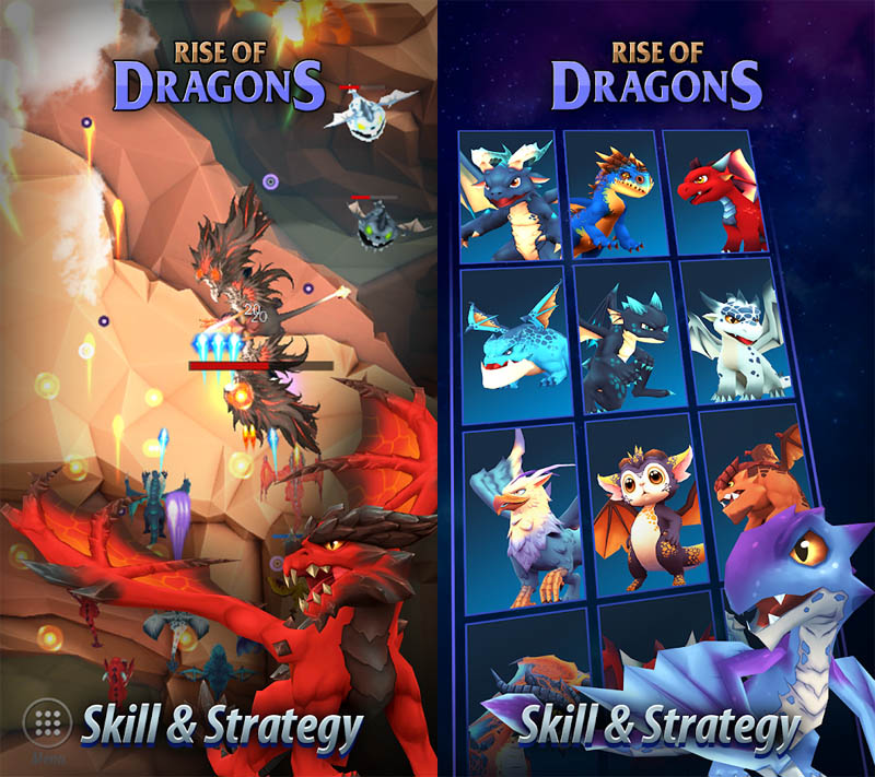 Rise of Dragons - Skill and Strategy