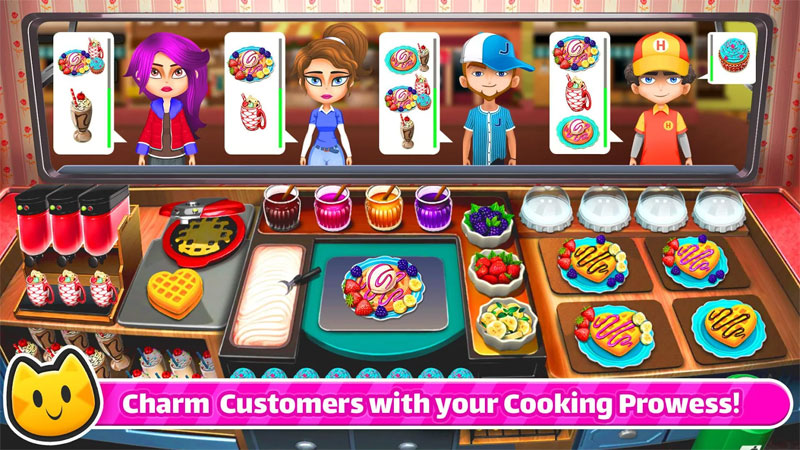 Chef Cat Ava - Charm Customers with your Cooking Prowess