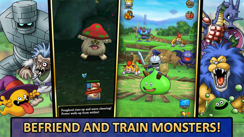 DRAGON QUEST TACT - Befriend and Train Monsters