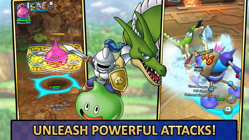 DRAGON QUEST TACT - Unleash Powerful Attacks
