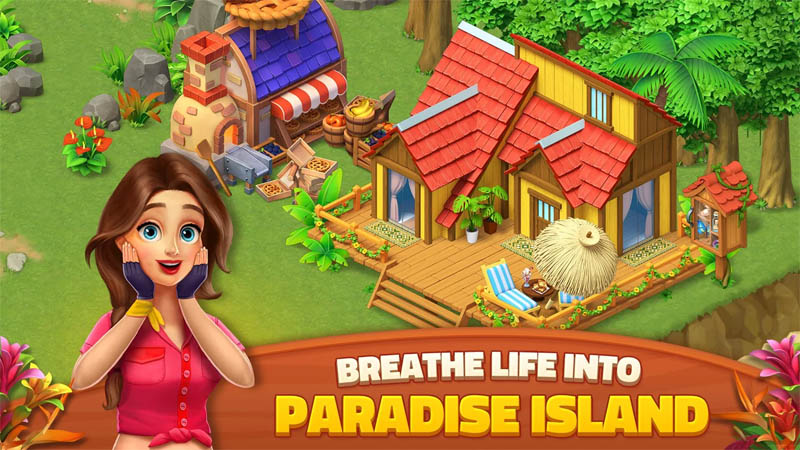 Dragonscapes Adventure - Breathe Life Into Paradise Island