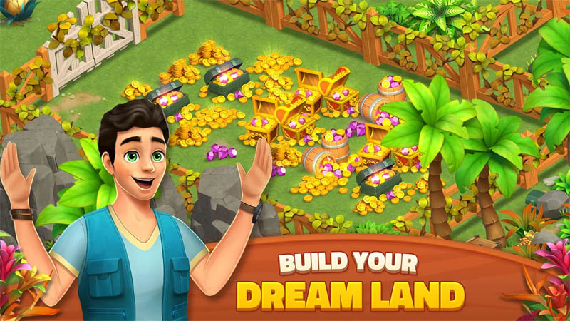 Dragonscapes Adventure - Build Your Dream Land