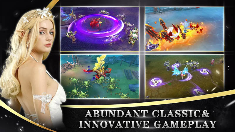 Goddess of War - Abundant Classic and Innovative Gameplay