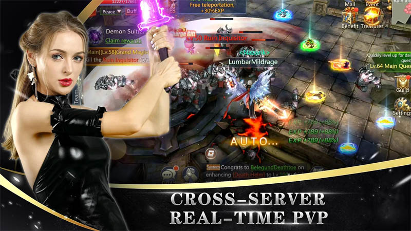 Goddess of War - Cross Server Real Time PVP