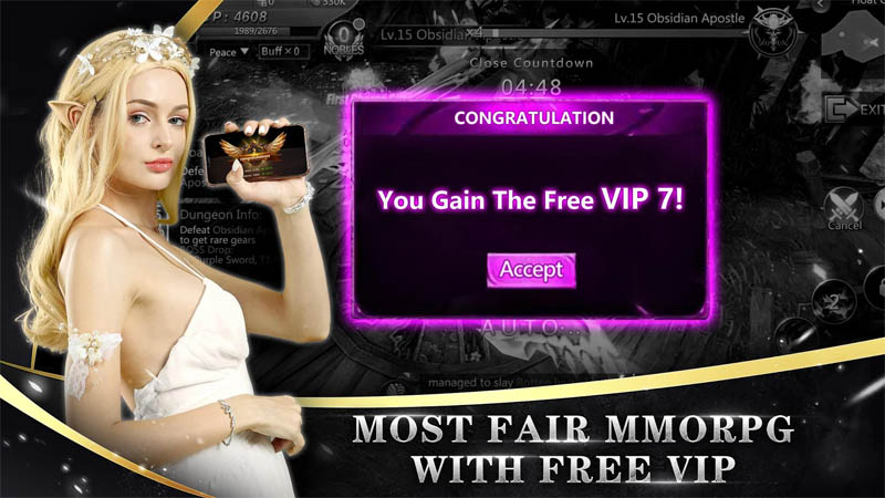 Goddess of War - Most Fair MMORPG With Free VIP