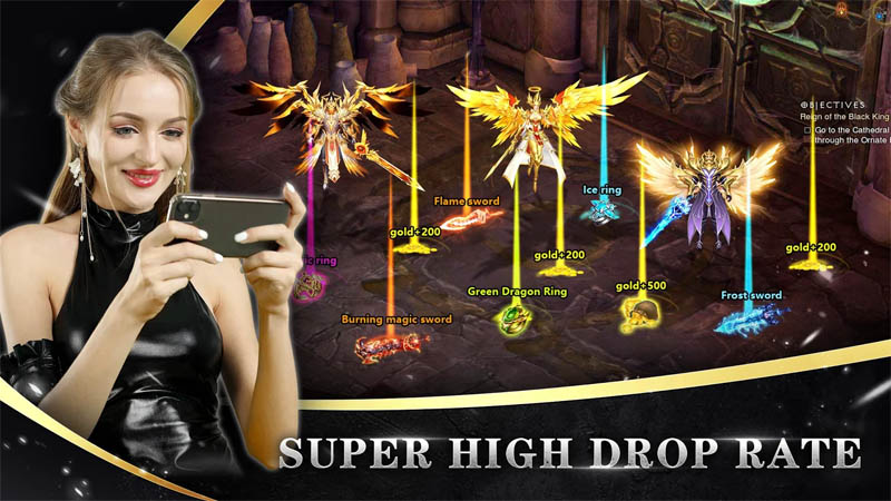 Goddess of War - Super High Drop Rate