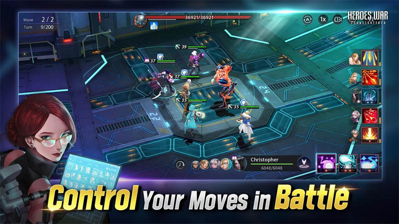 Heroes War Counterattack - Control Your Moves in Battle
