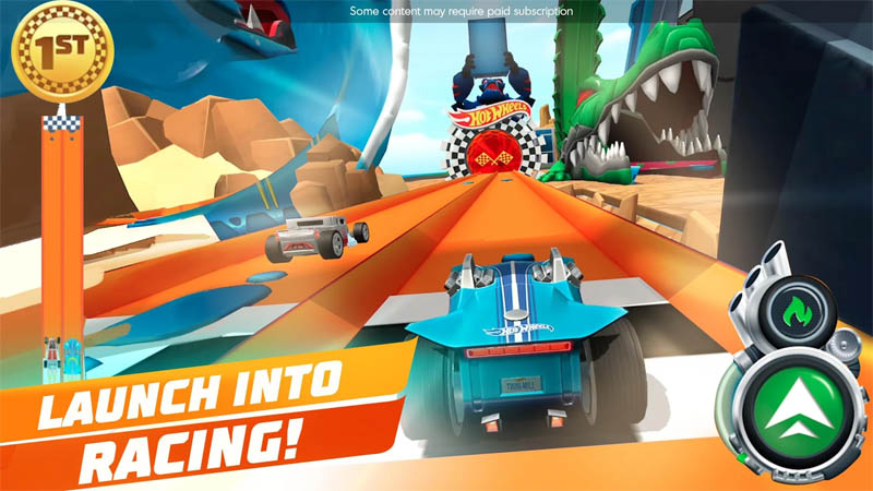 Hot Wheels Unlimited - Launch Into Racing