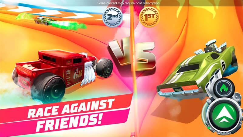 Hot Wheels Unlimited - Race Against Friends