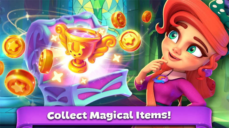 Huuuge Bingo Story - Collect Magical Items