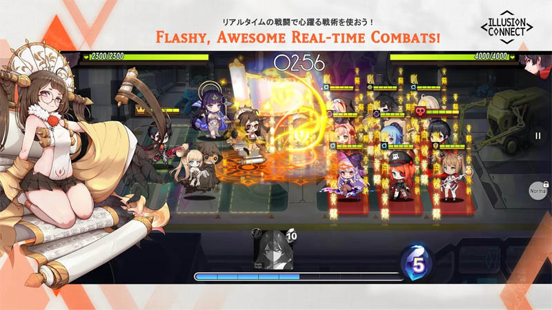 ILLUSION CONNECT - Flashy Awesome Real Time Combats