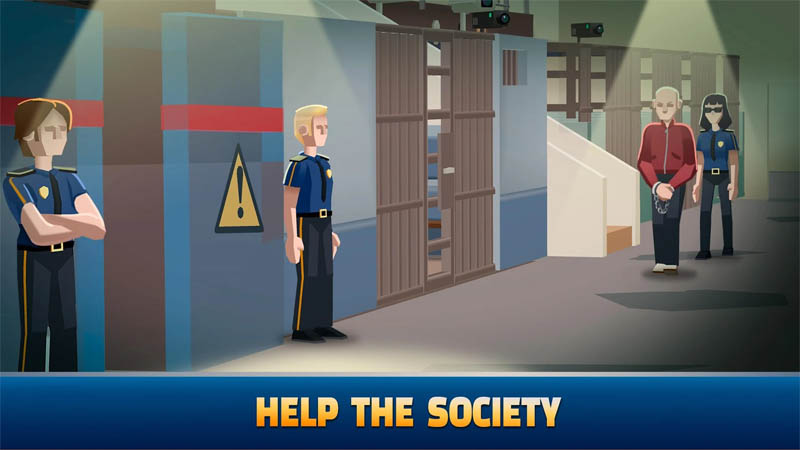 Idle Police Tycoon - Help The Society