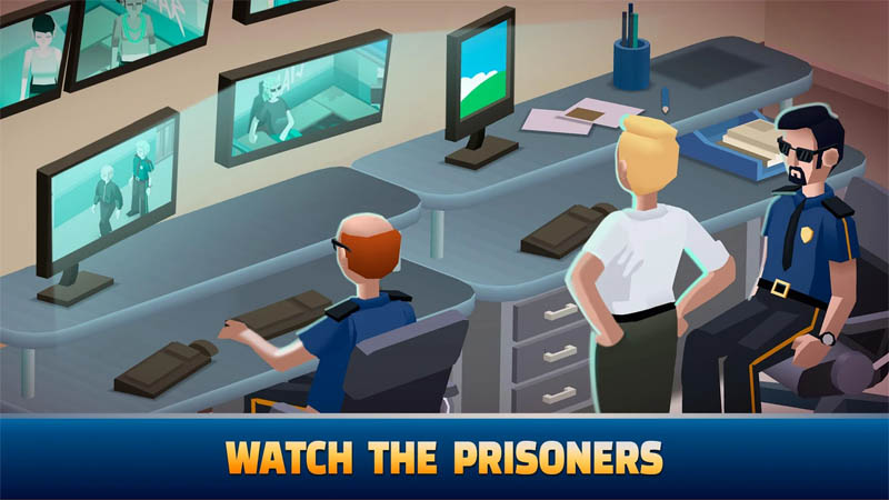 Idle Police Tycoon - Watch The Prisoners