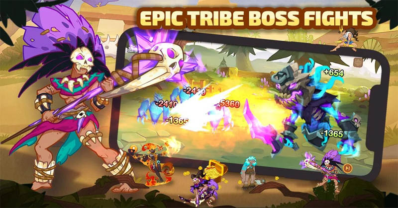 Mystic Tribes - Epic Tribe Boss Fights