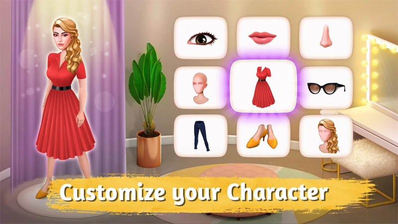 Room Flip - Customize your Character
