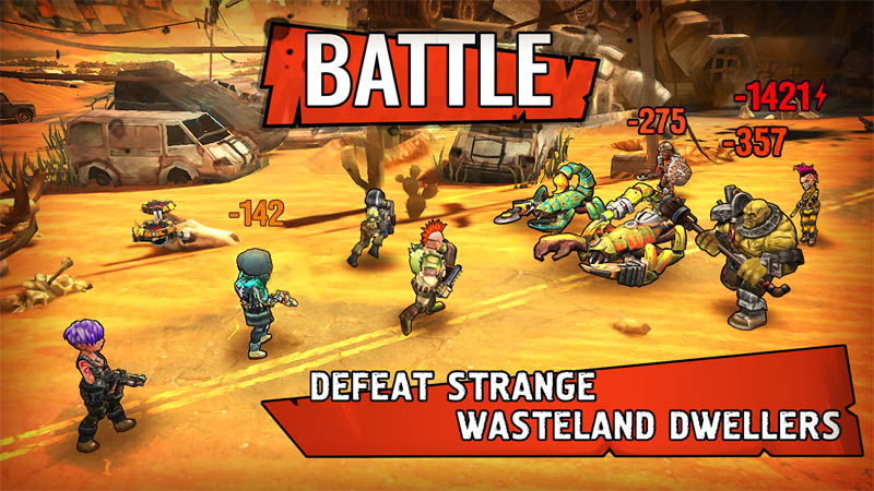 Shelter War - Battle Defeat Strange Wasteland Dwellers