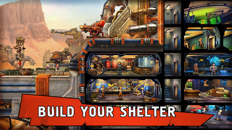 Shelter War - Build Your Shelter