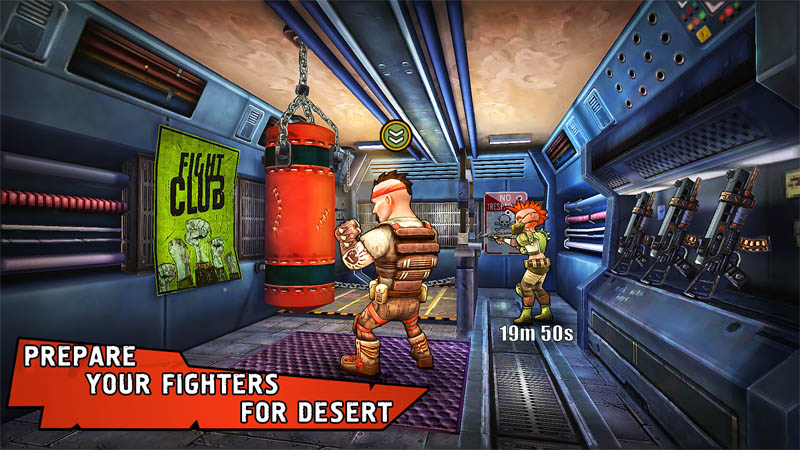 Shelter War - Prepare Your Fighters For Desert