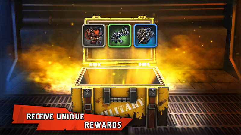 Shelter War - Receive Unique Rewards