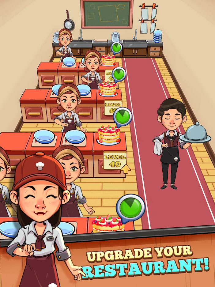 Spoon Tycoon - Upgrade Your Restaurant
