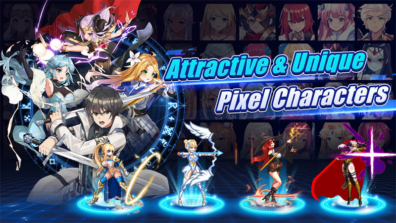 Sword Master Story - Attractive and Unique Pixel Characters