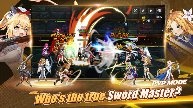 Sword Master Story - PVP Mode Who s the trus Sword Master