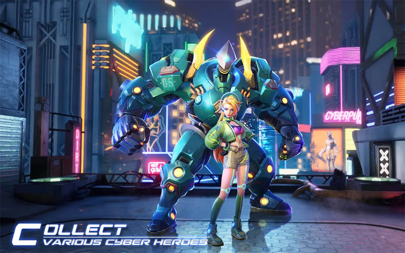 Cyber Era - Collect Various Cyber Heroes