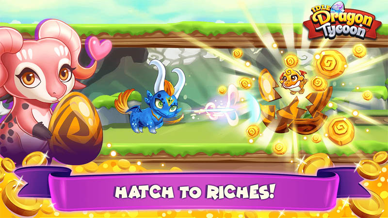 Idle Dragon Tycoon - Hatch to Riches