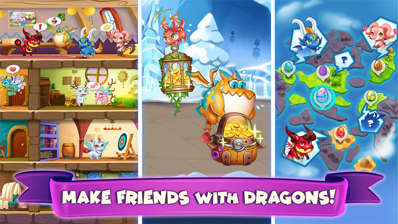 Idle Dragon Tycoon - Make Friends with Dragons