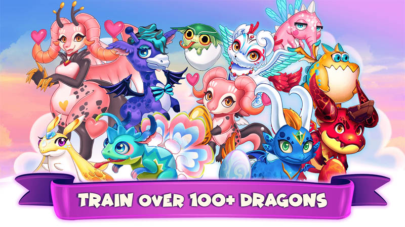 Idle Dragon Tycoon - Train over 100 dragons