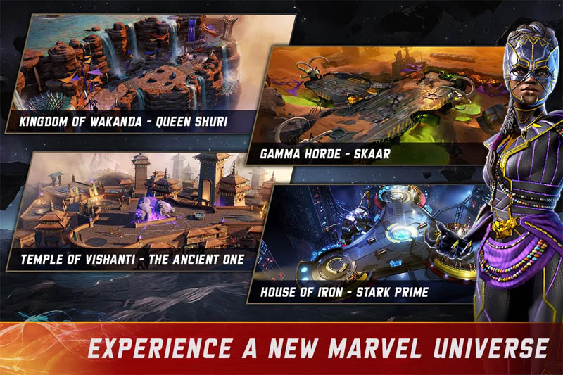 MARVEL Realm of Champions - Experience a new Marvel Universe