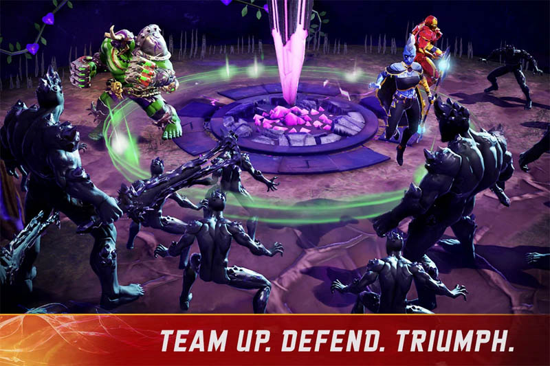 MARVEL Realm of Champions - Team Up Defend Triumph