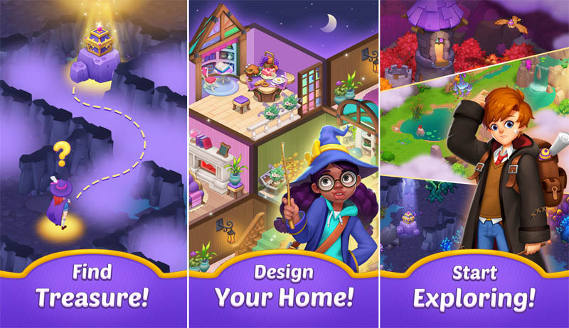 Magicabin - Find Treasure Design Your Home Start Exploring