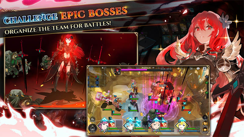 Shining Beyond - Challenge Epic Bosses Organize The Team for Battles