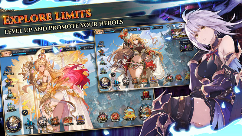 Shining Beyond - Explore Limits Level Up and Promote Your Heroes