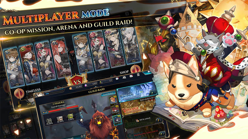 Shining Beyond - Multiplayer Co-op Mission Arena dan Guild Raid Mode