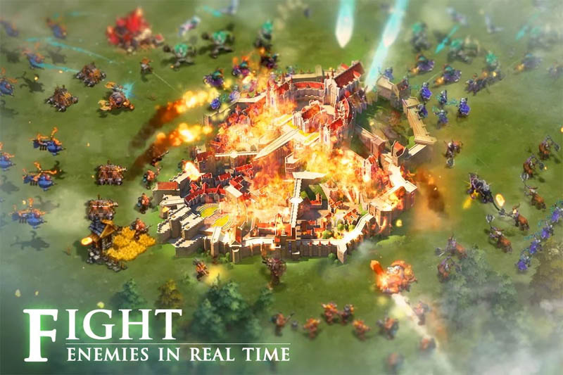Empires Mobile - Fight Enemies in Real Time