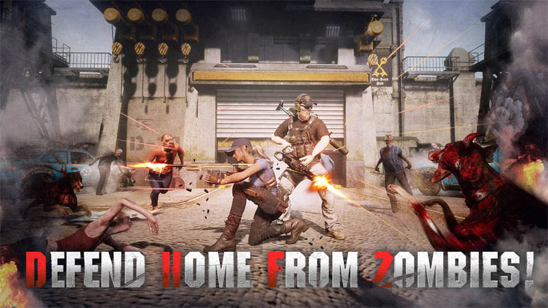 First Refuge Z - Defend Home From Zombies